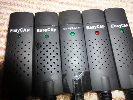 EasyCAP clones USB 2.0