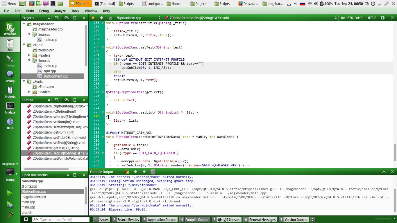 qt creator linux download offline